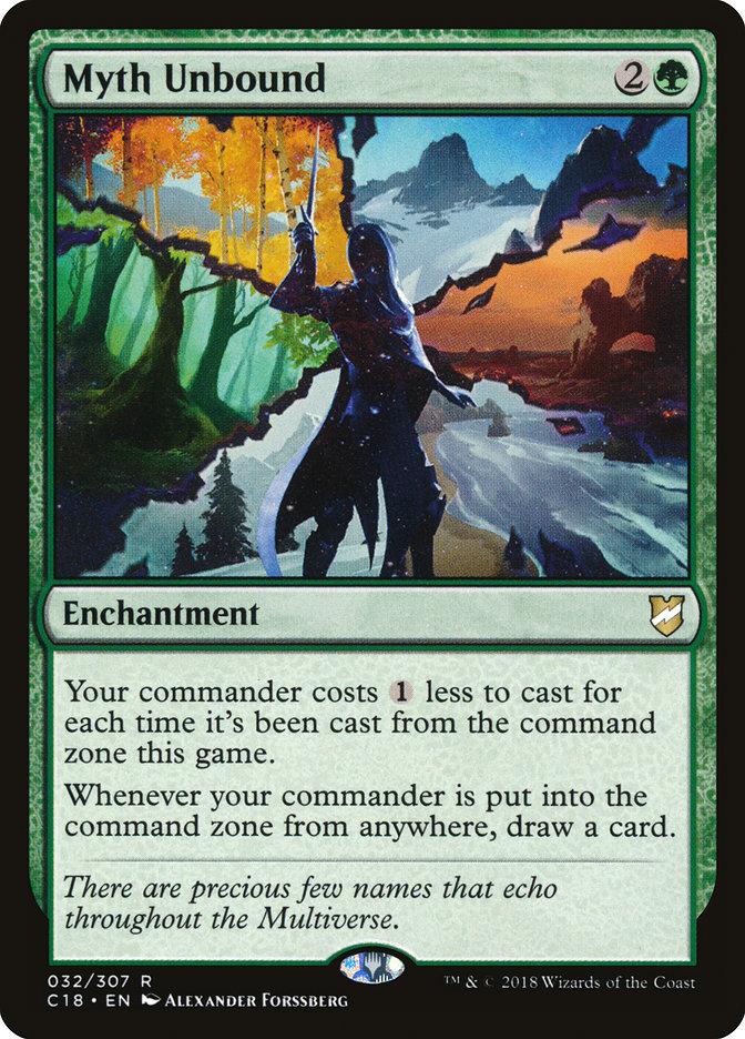 Myth Unbound - Commander 2018