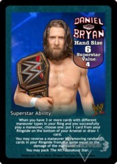 Daniel Bryan Superstar Card - VSS (2)