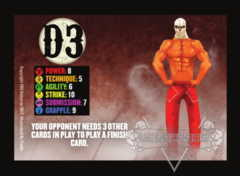 D3 Competitor Card (Promo Pack)