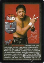 Tajiri Superstar Card