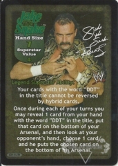 Jake The Snake Superstar Card