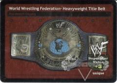 World Wrestling Federation Heavyweight Title Belt (2.0)