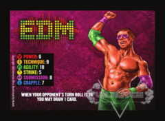 EDM Competitor Card (The Knockdown)