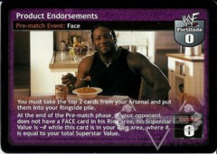 Product Endorsements