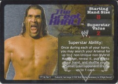 <i>Revolution</i> The Great Khali Superstar Card