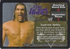 <i>Revolution</i> The Great Khali Superstar Card