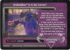 <i>Revolution</i> Undertaker® Is In My Corner!
