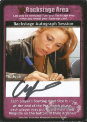 Backstage Autograph Session - Chris Jericho (1)
