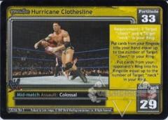 <i>Revolution</i> Hurricane Clothesline