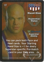 Kurt Angle Superstar Card (TB) - SS3