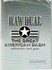 Great American BASH Rule Book