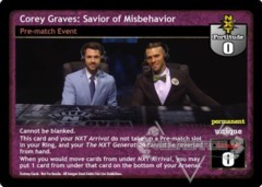 Corey Graves: Savior of Misbehavior