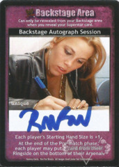 Backstage Autograph Session - Raven