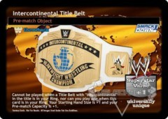 Intercontinental Title Belt (TB)