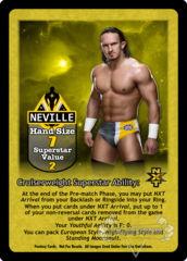 Neville Superstar Card (Dual-sided)