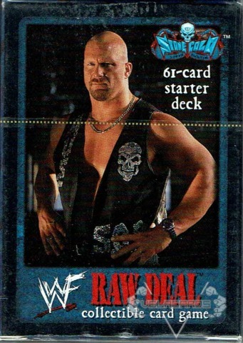 Comic Images WWE WWF Raw Deal Mania Wrestling Starter Deck Box