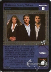 McMahon Family Values