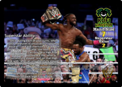 Kofi Kingston Superstar Card (PROMO)