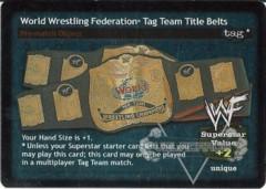 World Wrestling Federation Tag Team Title Belts