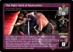 The Right Hand of Destruction