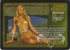 Stacy Keibler Superstar Card (PROMO)
