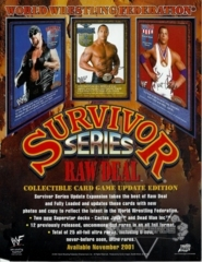 Survivor Series Sales Sheet