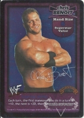 Chris Benoit Superstar Card - SS1