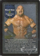 Goldberg Superstar Card