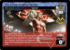 The Arrival of Adrian Neville