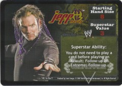 <i>Revolution</i> Jeff Hardy Superstar Card