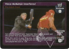 Vince McMahon Interferes!