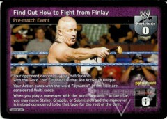 Find Out How to Fight From Finlay