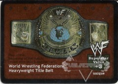 World Wrestling Federation Heavyweight Title Belt (1.0)
