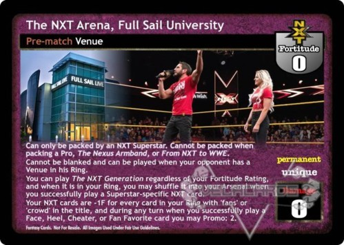 The NXT Arena, Full Sail University