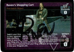 Raven's Shopping Cart - Signed by Raven