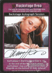 Backstage Autograph Session - Christy Hemme