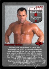 Dean Malenko Superstar Card