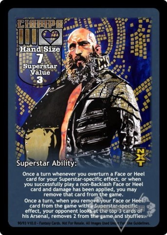 Tommaso Ciampa Superstar Card (2)