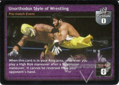 Unorthodox Style of Wrestling