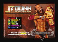 JT Dunn Competitor Card (The Main Event)