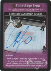 Backstage Autograph Session - Chris Jericho (2)