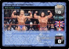 Strength of Allied Powers