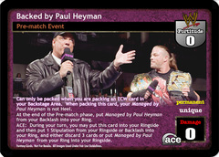 Backed by Paul Heyman