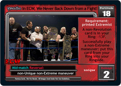 <i>Revolution</i> In ECW, We Never Back Down from a Fight!
