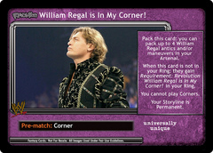 <i>Revolution</i> William Regal is In My Corner!