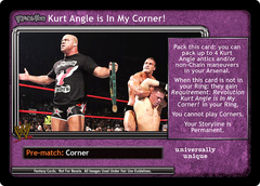 <i>Revolution</i> Kurt Angle is In My Corner!