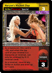 Maryse's Wicked Slap