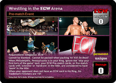 Wrestling in the ECW Arena