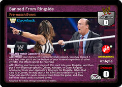 Banned From Ringside (TB)