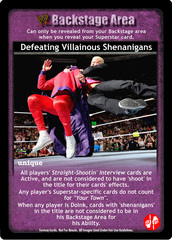 Defeating Villainous Shenanigans
